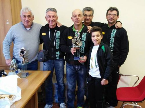 Premiazioni stagione ciclistica 2016 UISP a Valiano