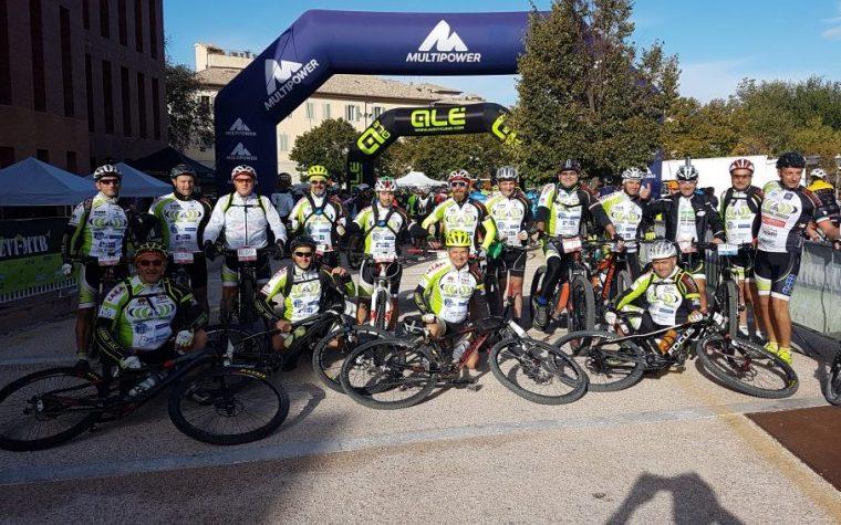 ASD Cerro Bike 2° classificata nel CriteriumNazionale Escursionismo MTB UISP 2017