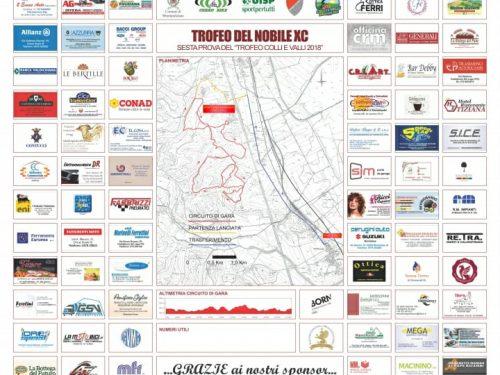"""Ringraziamenti """"Trofeo del Nobile XC"""""""