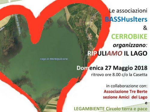 """Domenica 27 Maggio """"Ripuliamo il Lago"""""""